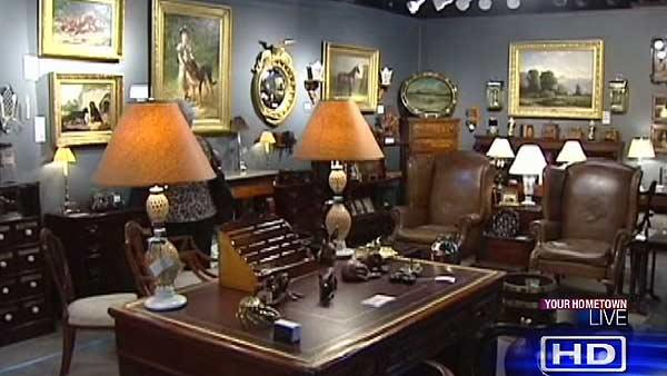 This is no ordinary antique sale