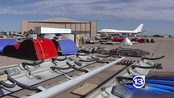 Turning an airplane boneyard into a booming business