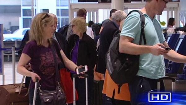 Busiest travel day underway