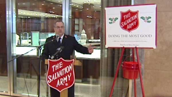 Salvation Army kicks off drive