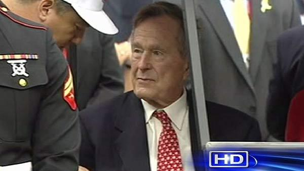 Ex-President George H.W. Bush recovering in hospital