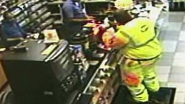 Possible Powerball jackpot winner checks his ticket