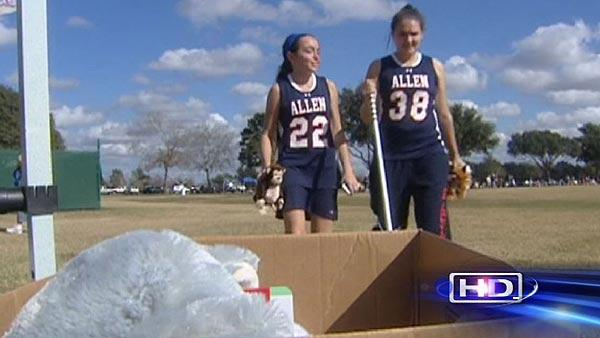 Teenagers, HPD hold toy drive to help child crime victims
