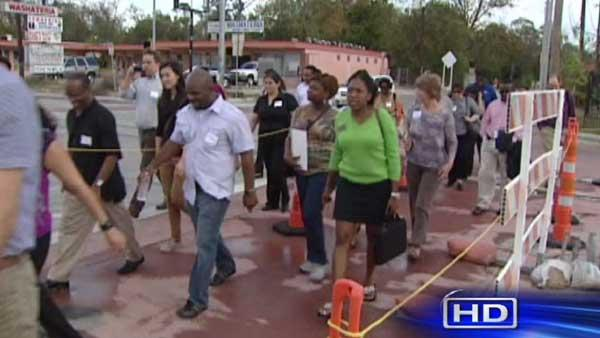 Houston officials examining city's walkability