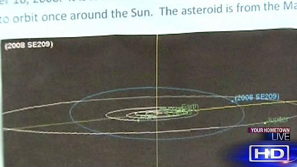 Asteroid named in honor of local students