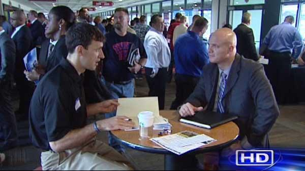 Veterans get exclusive access to job fair