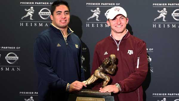 'Johnny Football' hopes to come back with Heisman