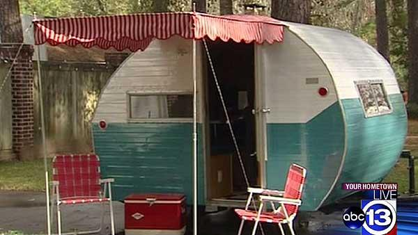 Vintage travel trailers are couple's passion