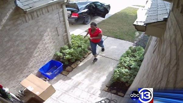 Package thief caught on camera
