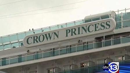 Cruise ship full of sick passengers docks in Galveston