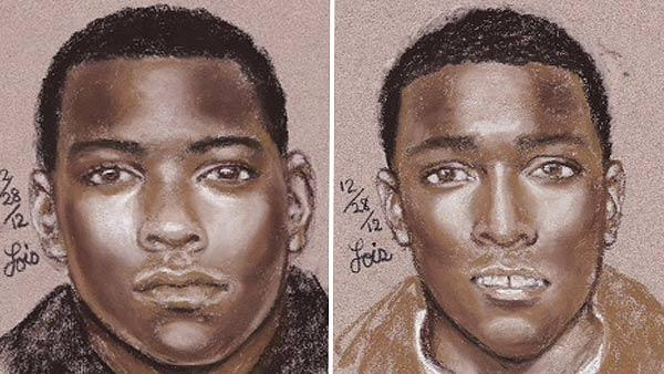 Sketches released in home invasion murder