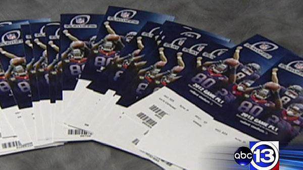 Texans playoff tickets going for less than you might think