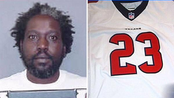 Man accused of selling counterfeit Texans jerseys