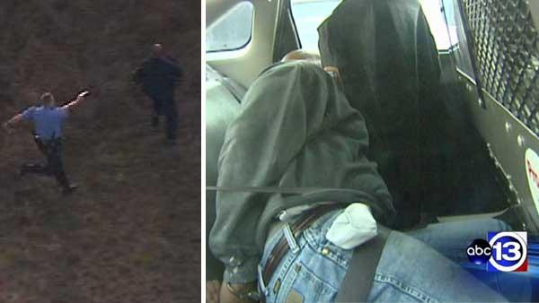 Officer uses stun gun to stop fleeing suspect