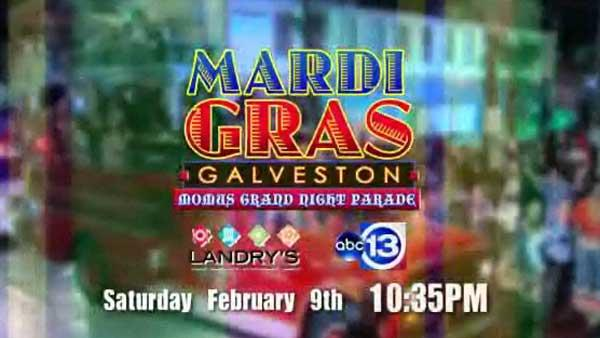Mardi Gras time in Galveston