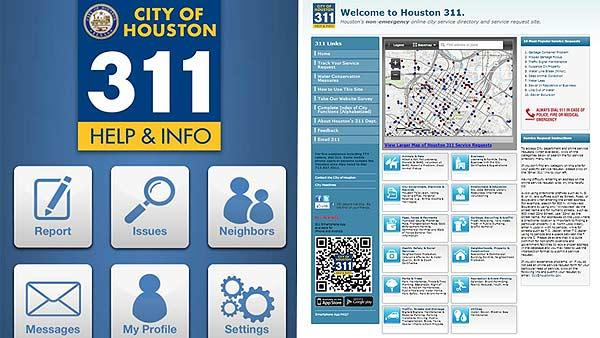 City, Mayor Parker launch new 311 smartphone app