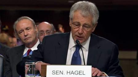 Senate hearing underway in Washington for Chuck Hagel   Defense Secretary nominee  .