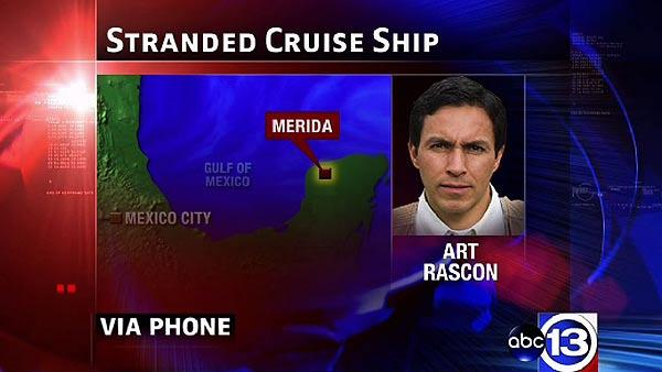 Art Rascon reports from Mexico on stranded ship