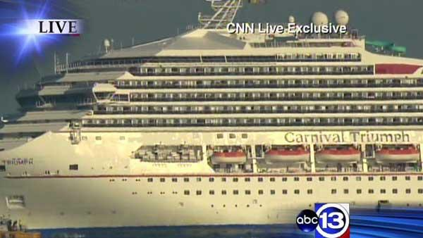 Coast Guard: Disabled cruise ship is moving again