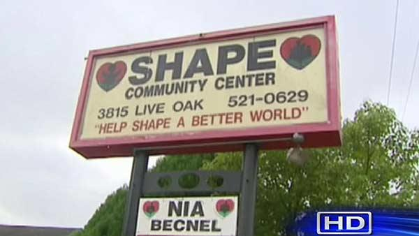 Close call for SHAPE Community Center