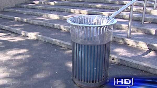 Homeless man ticketed for rummaging through trash