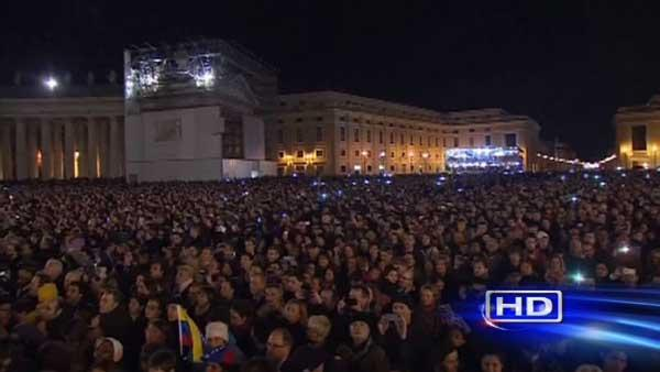 Catholics celebrate Pope Francis' installation