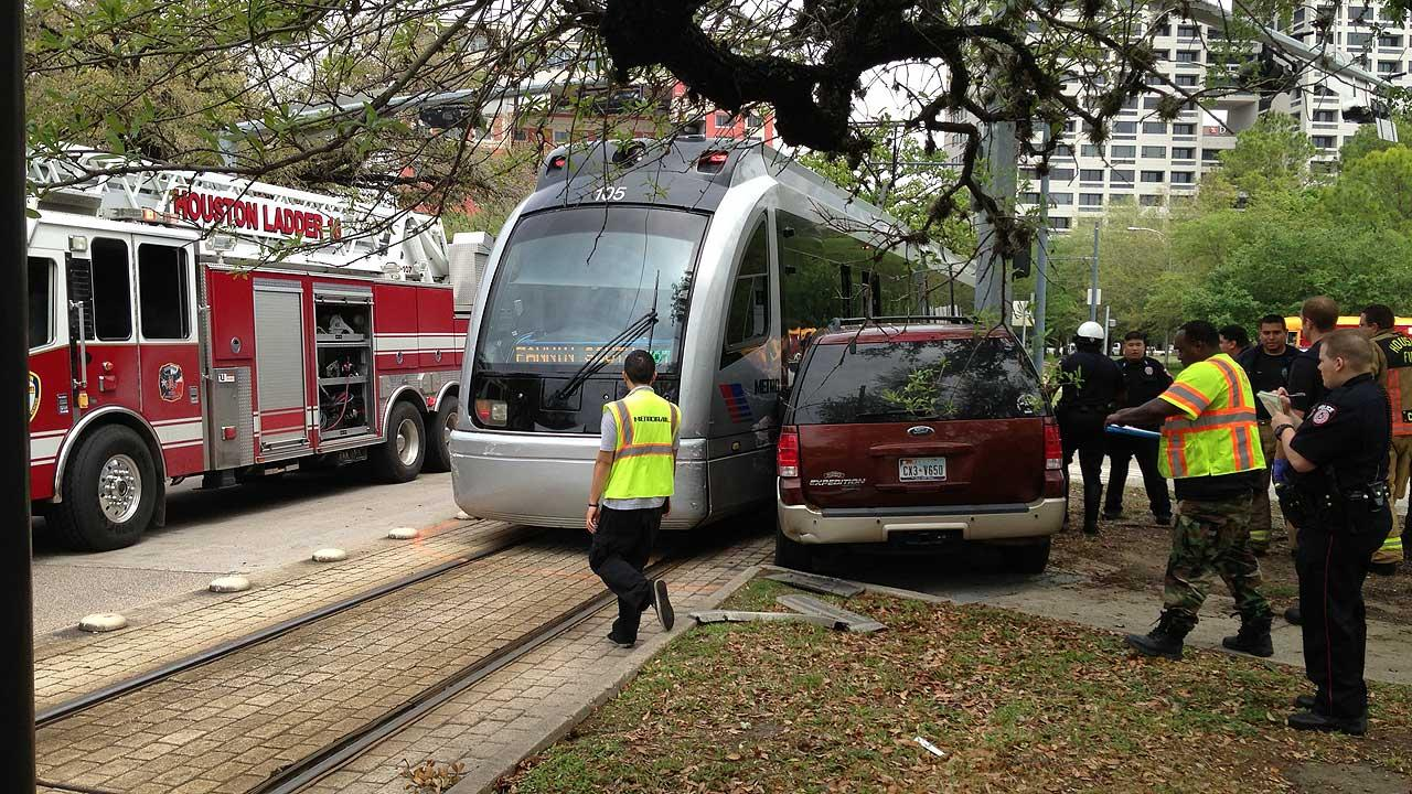 METRO light rail accident