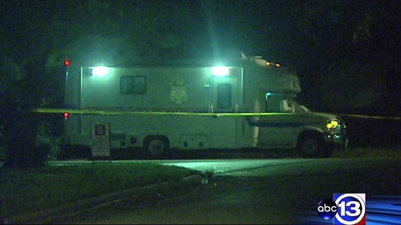 A man shot two suspected robbers outside his Pasadena home.