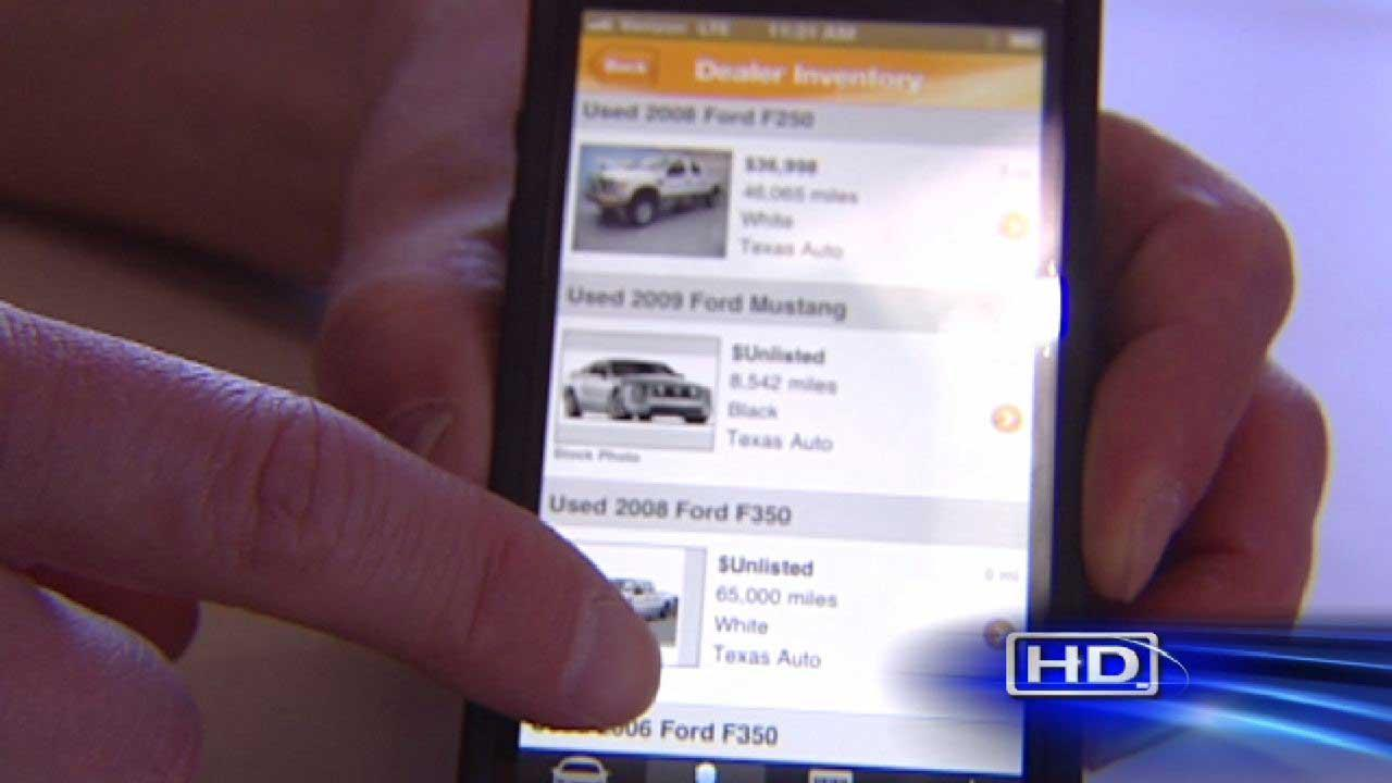 Experts: Phone apps can be good guides for car buyers