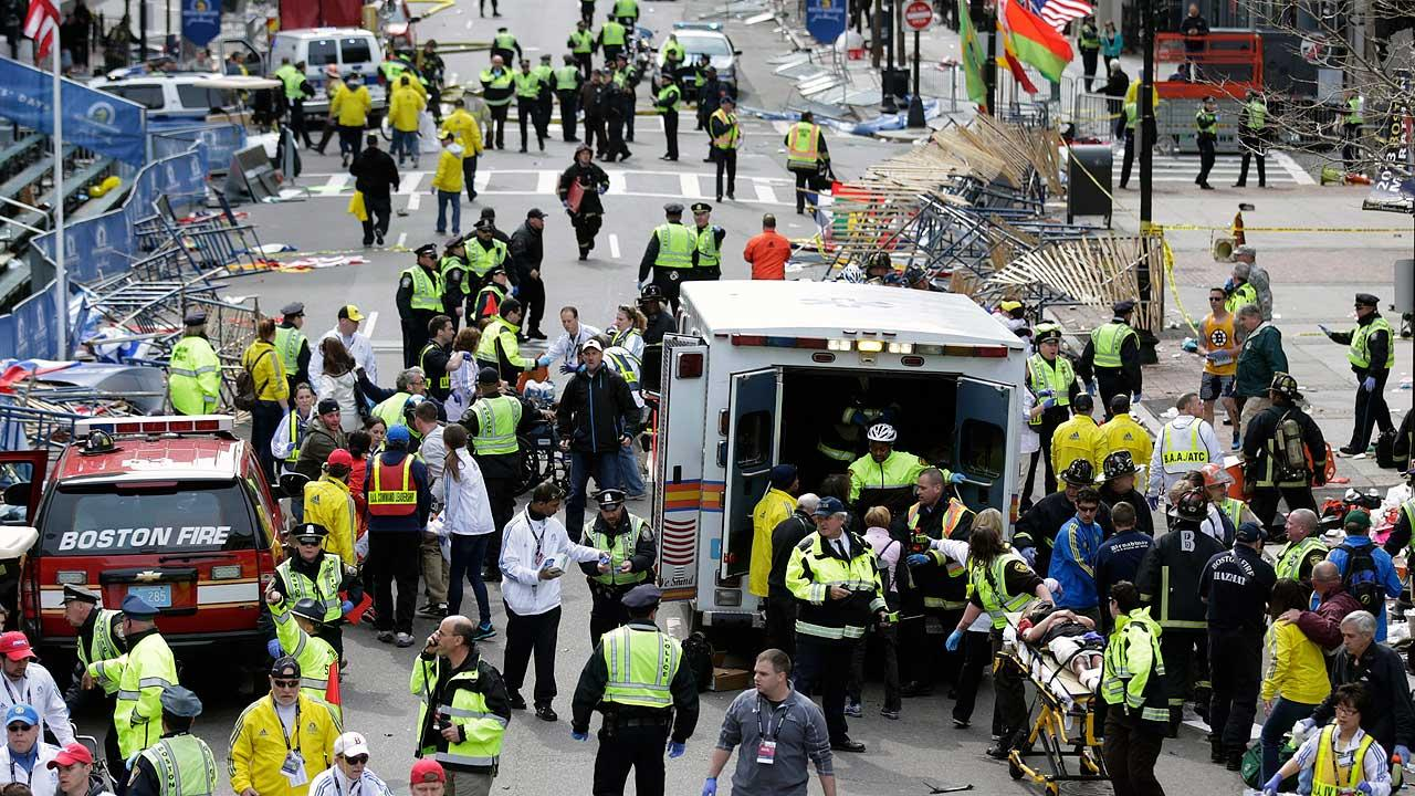 Lawmakers suggest terrorism involved in Boston