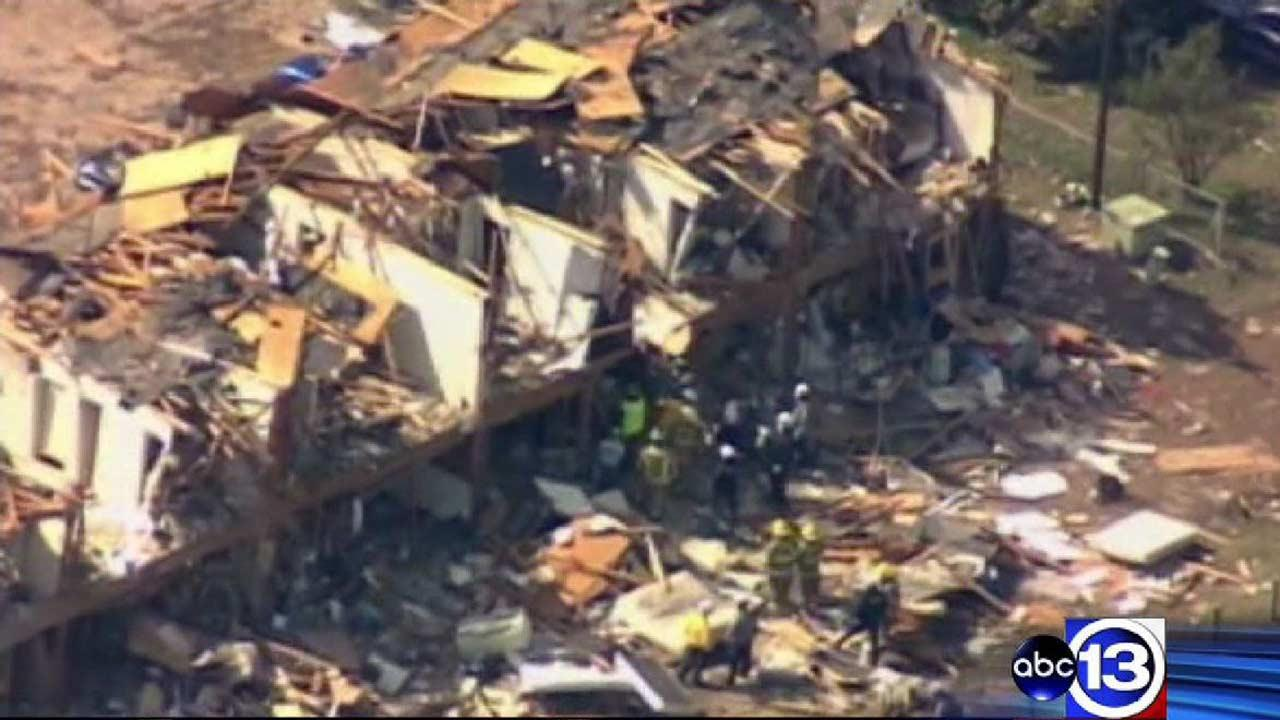 File image: West, Texas, is seen after the fertilizer plant blast that left 15 people dead