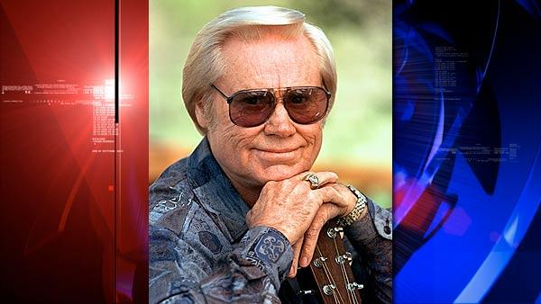 Country music legend George Jones