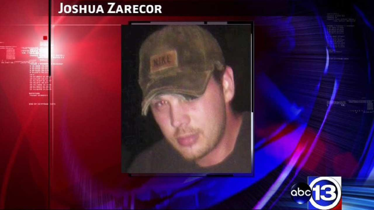 Joshua Zarecor, 34, was left blind and burned by the fertilizer plant explosion in West, Texas