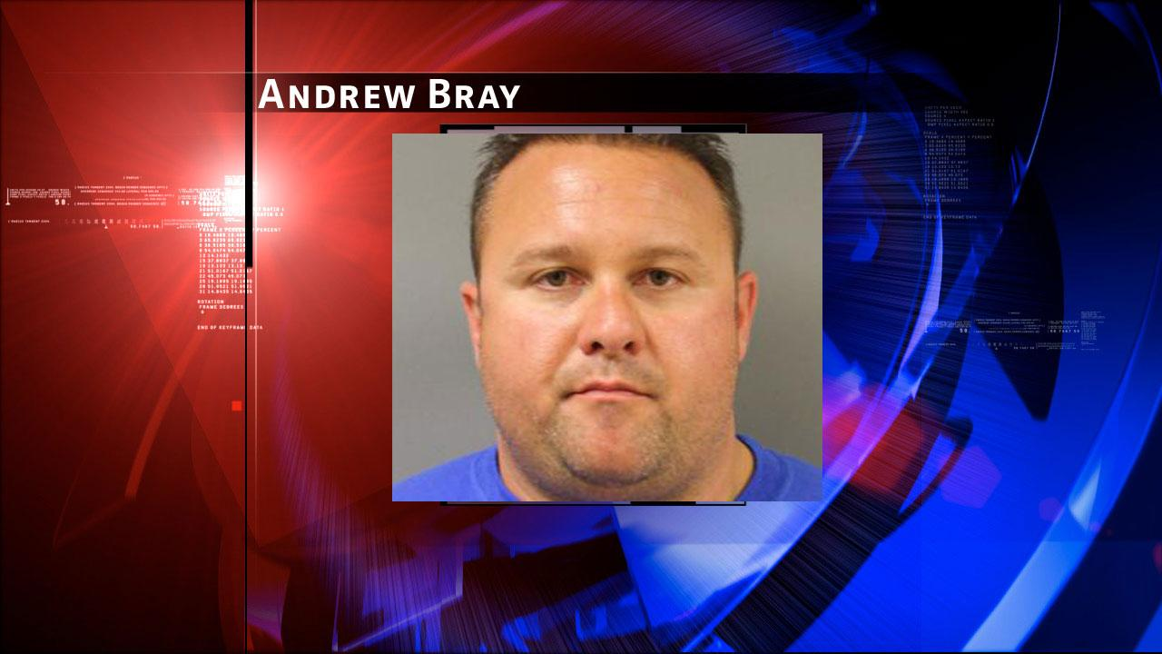 Andrew Bray, 34, is charged with prostitution and evading arrest. Harris County Sheriffs Office Vice Unit investigators made a dozen arrests on Tuesday, May 7, 2013, during an undercover prostitution sting in north Harris County.