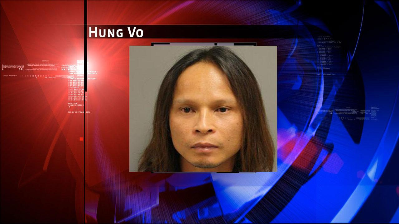 Hung Vo, 38, is charged with prostitution. Harris County Sheriffs Office Vice Unit investigators made a dozen arrests on Tuesday, May 7, 2013, during an undercover prostitution sting in north Harris County. <span class=meta>(HCSO)</span>