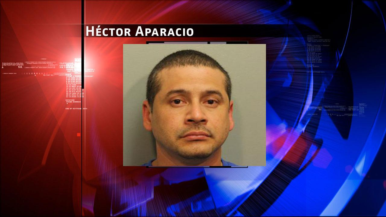 Hector Aparacio, 36, is charged with prostitution. Harris County Sheriffs Office Vice Unit investigators made a dozen arrests on Tuesday, May 7, 2013, during an undercover prostitution sting in north Harris County. <span class=meta>(HCSO)</span>