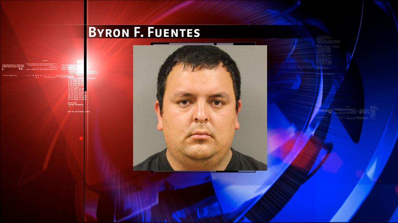 Byron F. Fuentes, 26, is charged with prostitution. Harris County Sheriffs Office Vice Unit investigators made a dozen arrests on Tuesday, May 7, 2013, during an undercover prostitution sting in north Harris County. <span class=meta>(HCSO)</span>