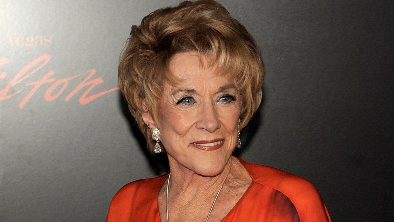 Actress Jeanne Cooper