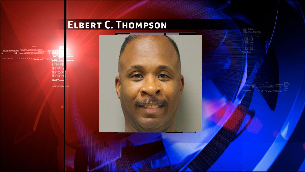 Elbert C. Thompson, 43, is charged with prostitution. Harris County Sheriffs Office Vice Unit investigators made a dozen arrests on Tuesday, May 7, 2013, during an undercover prostitution sting in north Harris County. <span class=meta>(HCSO)</span>