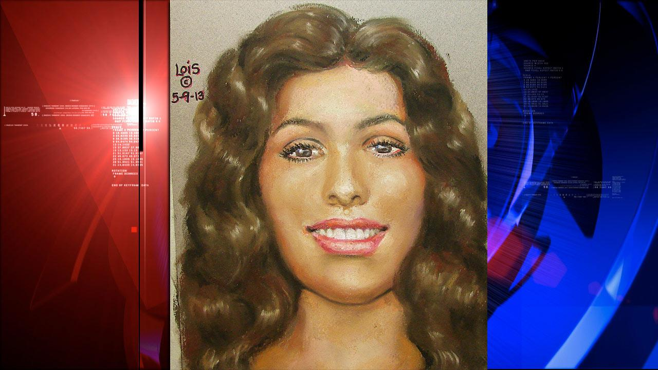 Sketch of woman found in bag