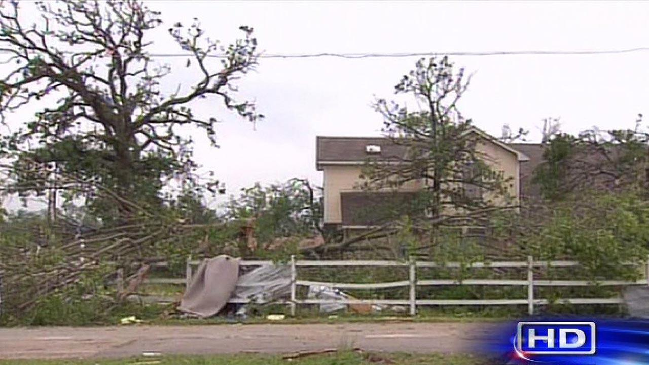 Images of the aftermath of the tornadoes that hit several north Texas communities on Wednesday night.ABC13
