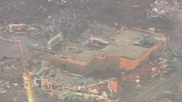 Aerials of Moore tornado damage