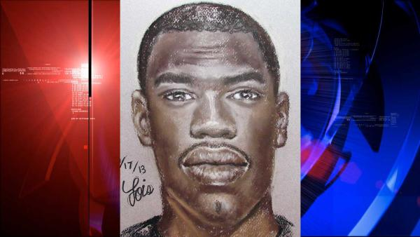 Police release sketch of suspected rapist