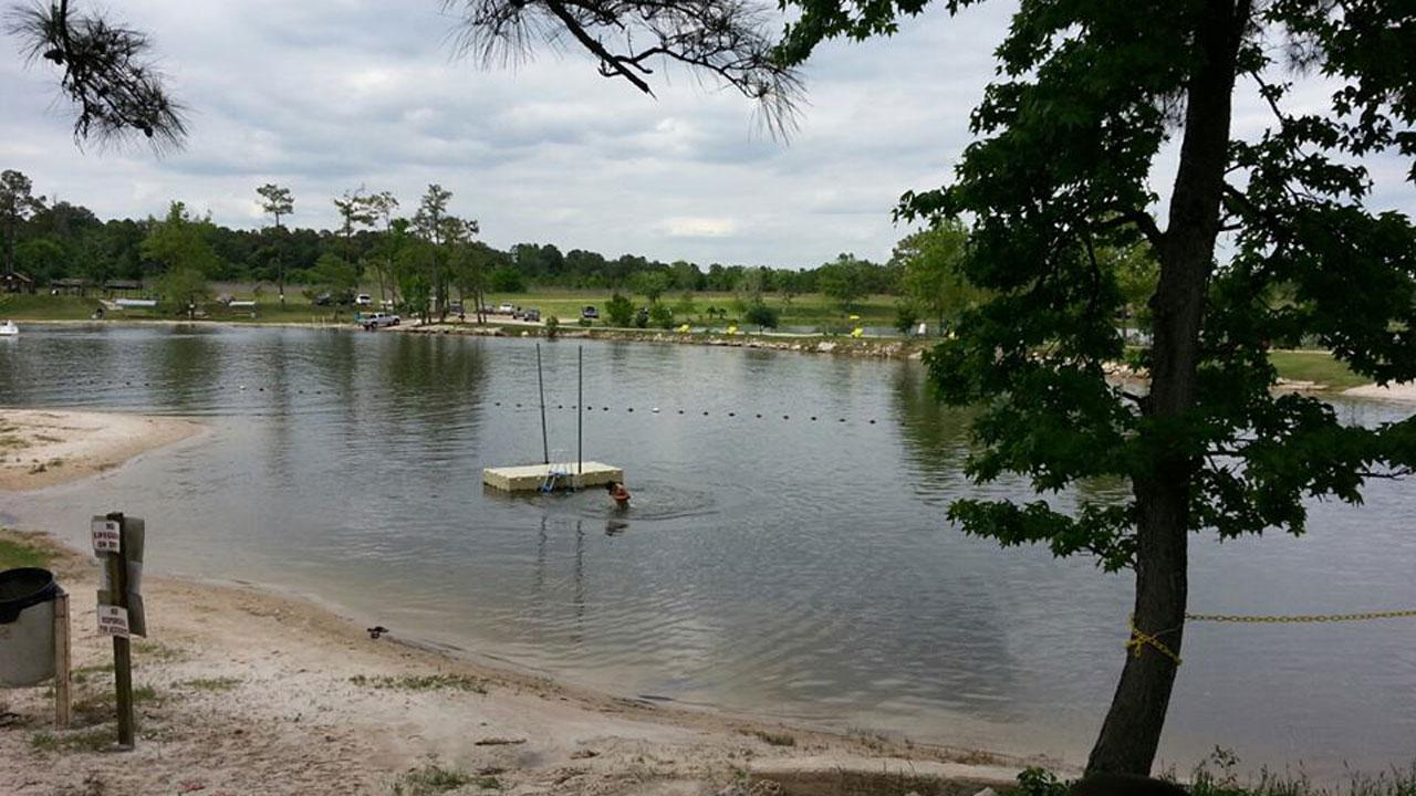 This photo of Loves Marina in Crosby -- the scene of a drowning -- was submitted by an ABC13 viewer. If you see news happening and can safely snap a photo or shoot video, send it to news@abc13.com.