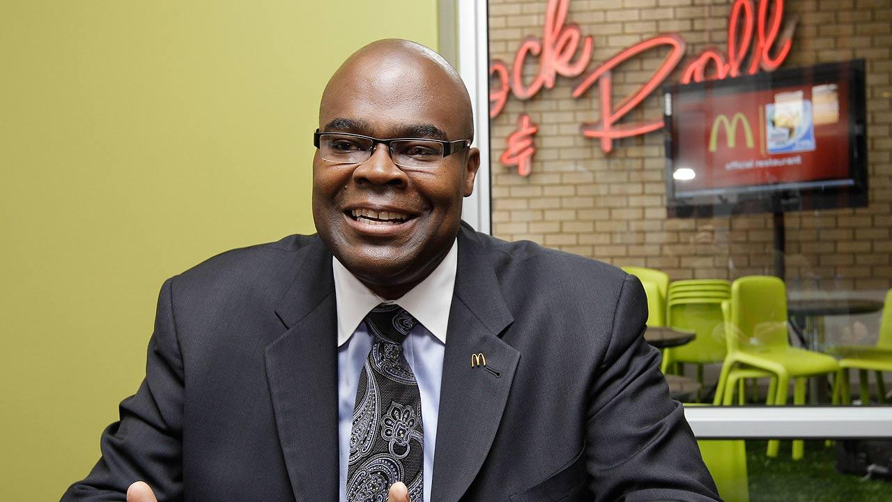 McDonalds CEO Don Thompson