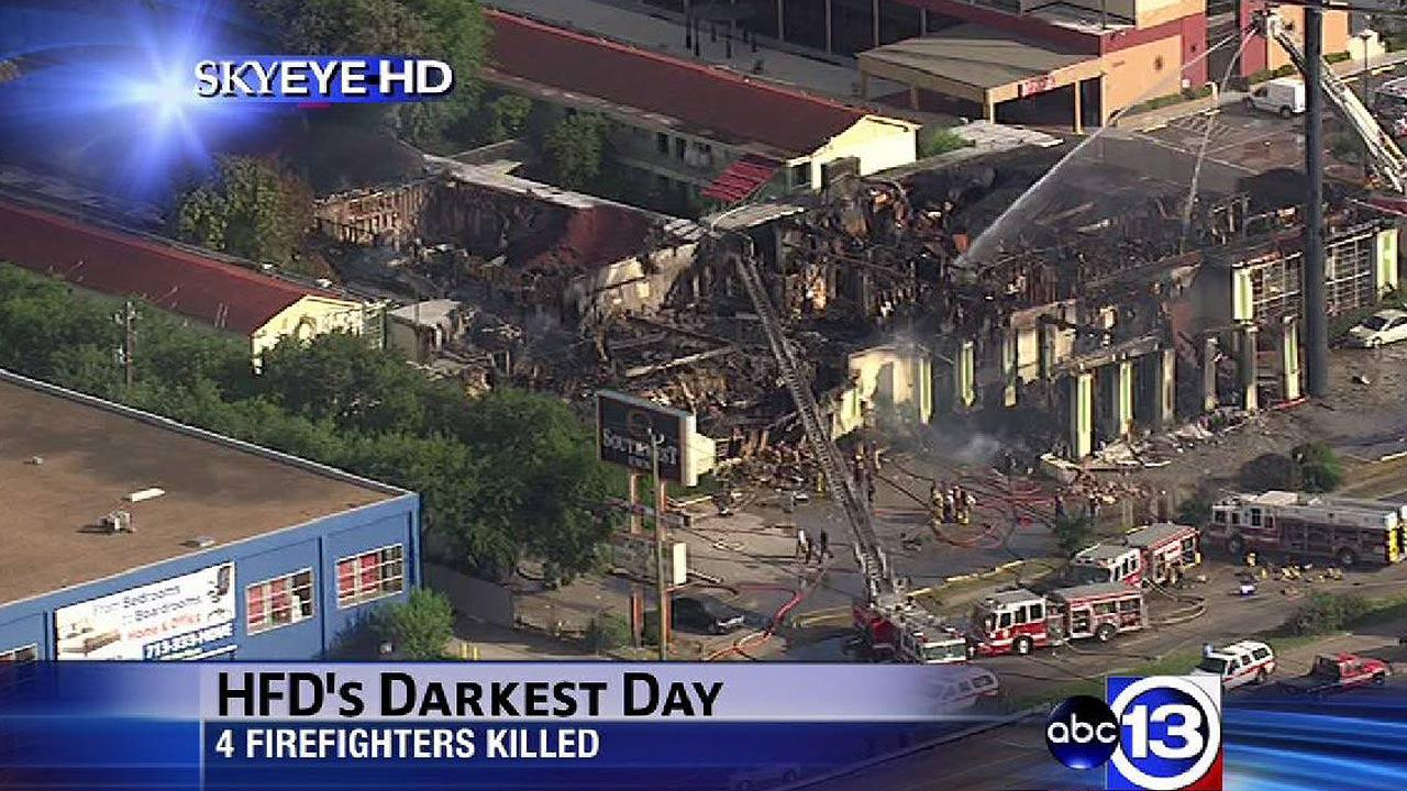 The raging fire at the Southwest Inn on the Southwest Freeway on May 31 proved to be the deadliest day in the history of the Houston Fire Department.