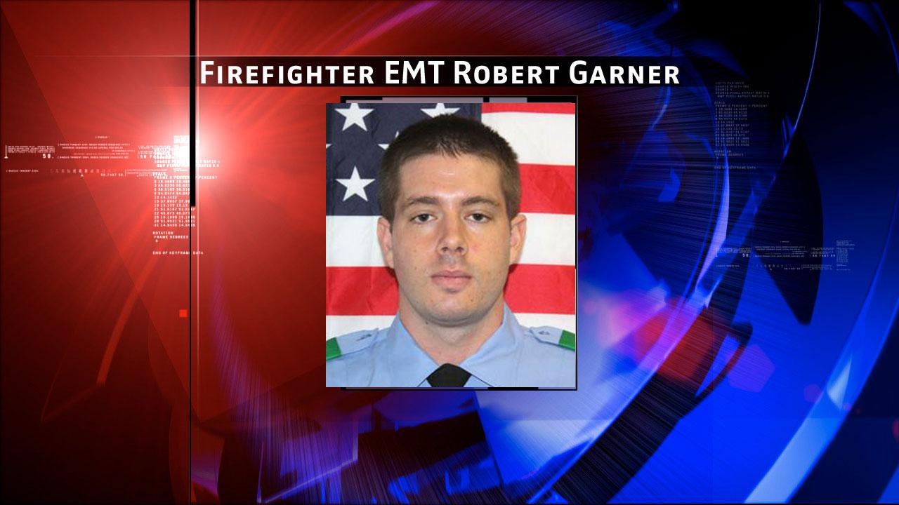 Firefighter EMT Robert Garner (29) of Station 68. He began his career with the Houston Fire Department in October of 2010. The Houston Fire Department says he gave the ultimate sacrifice at a fire in southwest Houston on Friday, May 31, 2013.