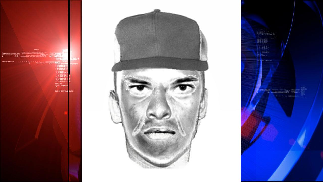Galveston robbery suspect sketch