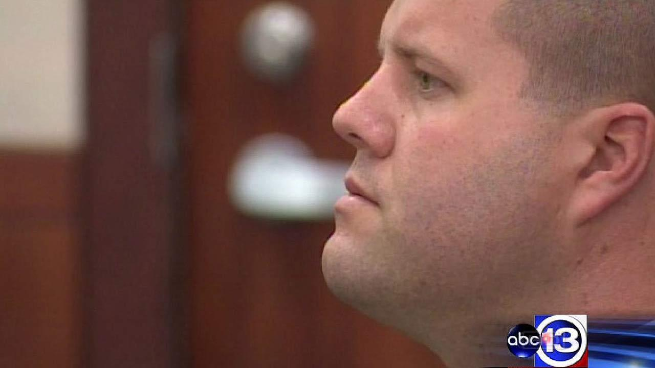 Jury convicts ex-HPD officer Drew Ryser of official oppression in Chad Holley beating case