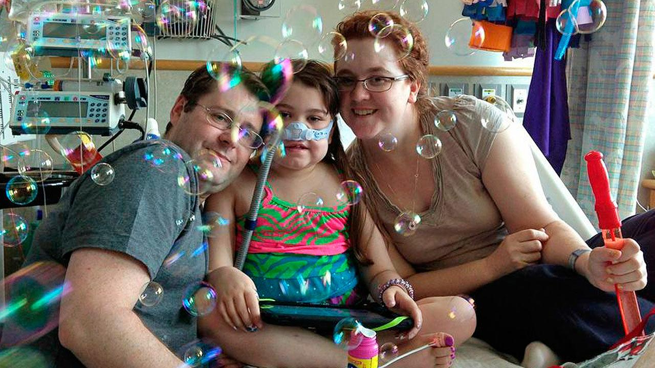 Sarah Murnaghan waits for lung transplant